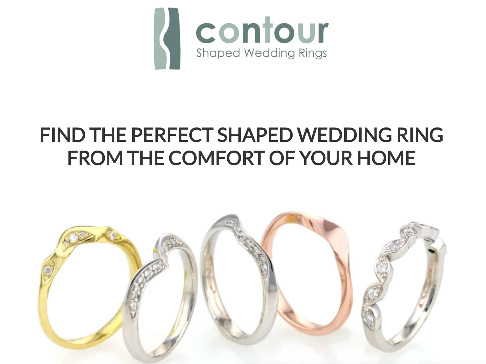 screenshot Contour Wedding Rings