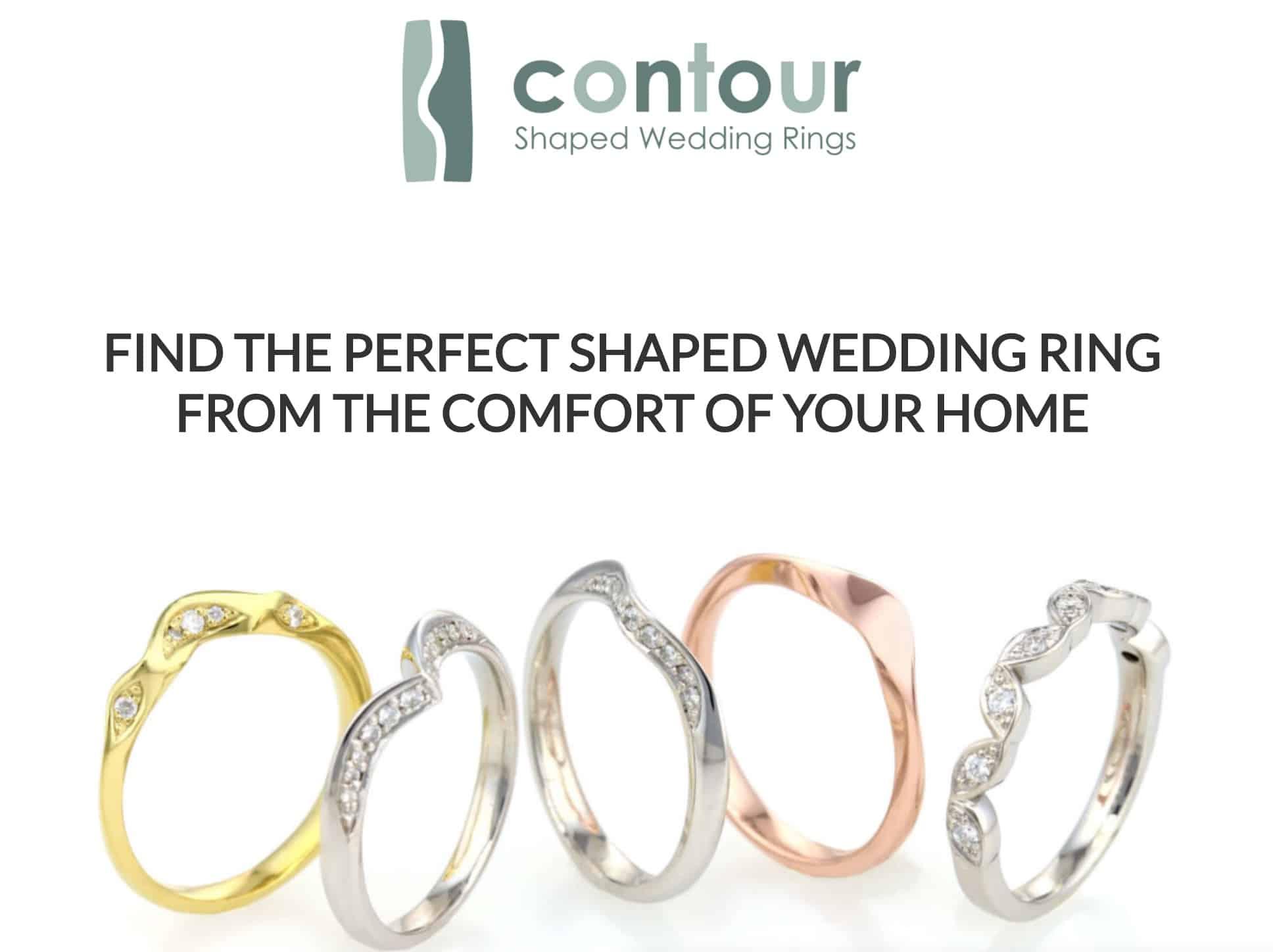 screenshot Contour Wedding Rings